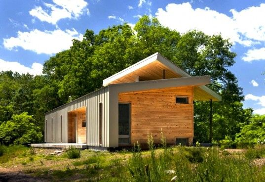 West Virginia Ridge House: A Modern Dog Trot Home Made From Local Materials | Inhabitat - Sustainable Design Innovation, Eco Architecture, Green Building