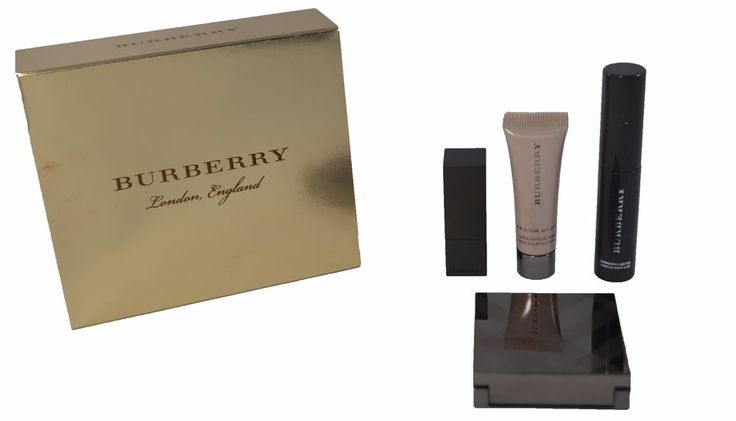 Burberry Beauty Box Festive Collection. What it is : A collection of Burberry Beauty products presented in a signature, giftable box. - Mini Burberry Cat Lashes in Jet Black No. 01 (0.11 oz.). - Mini Fresh Glow Luminous Fluid Base in Nude Radiance No. 1 (0.17 oz.). | eBay!
