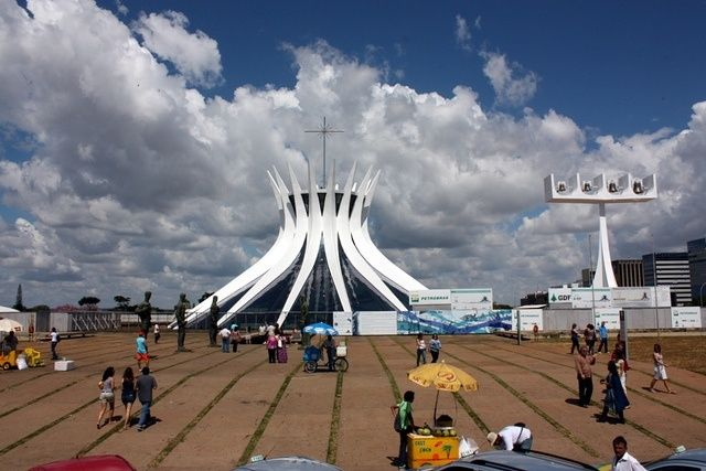 "BRAZIL FACTS ""The Cathedral of Brasilia"""