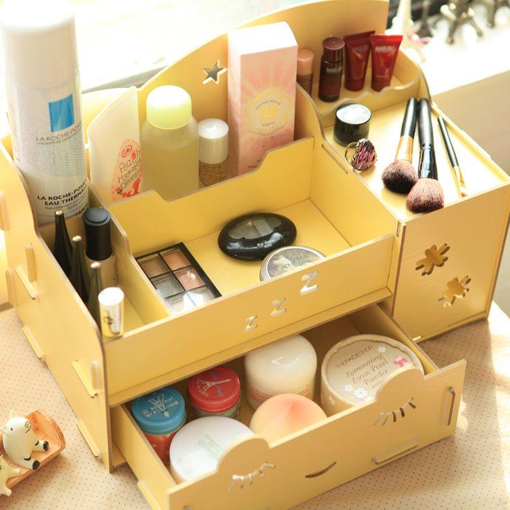 A cute Korean make-up storage box!