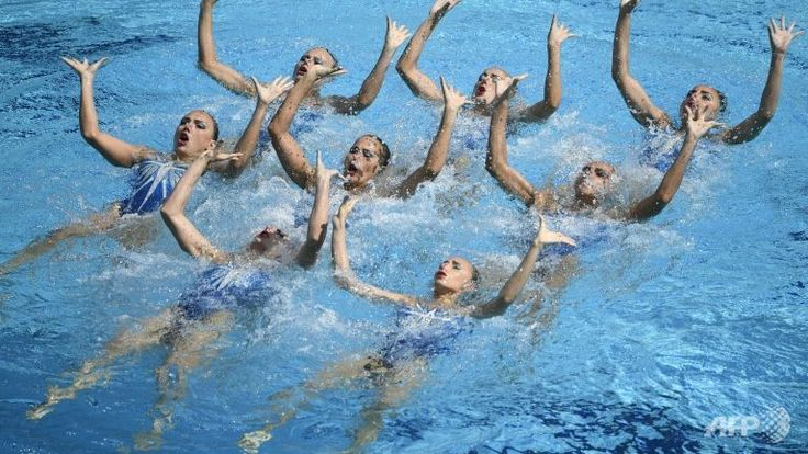 Russia Wins Fifth Straight Olympic Title in Synchronised Swimming