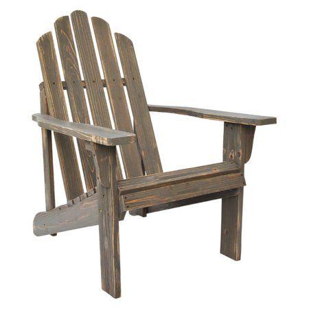 Marina Rustic Adirondack Chair - Vintage Gray