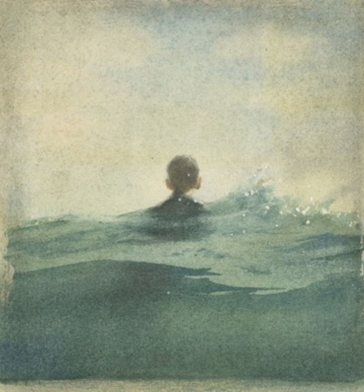 untitled watercolour by Marina Marcolin