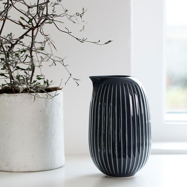 Hammershøi jug 0,5 L, anthracite - Carafes & Pitchers - Tableware -  The most comprehensive selection of Finnish and Scandinavian design online. All in-stock items ships within 24 hours!