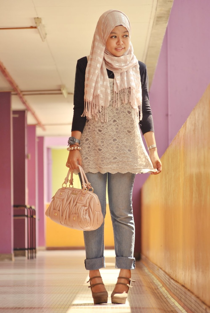 ♡ ❤ hijab style