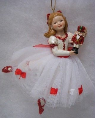 Clarie Ornament; ( I have this from the Nashville Ballet Co. presents the Nutcracker Fantasy!) So precious.
