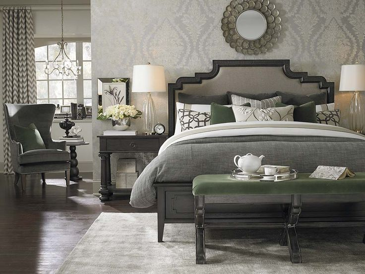 Upholstered Bed By Bassett Furniture