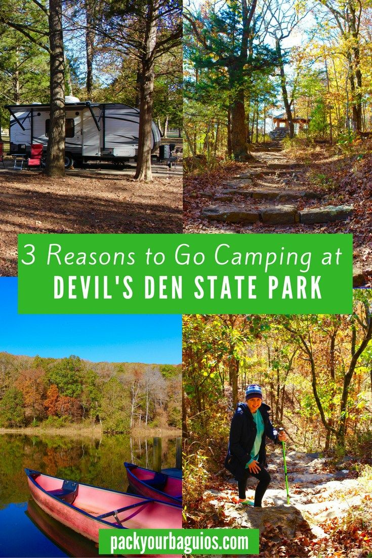 Devil's Den State Park | Arkansas travel | camping | hiking | mountain bike trails