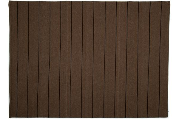 Casa Uno Wool/Cotton Carpet Area Rugs Flatweave Home Rug Mocha - NEW