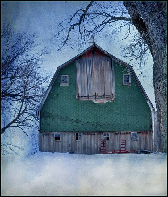 This barn wants to tell a story. . .