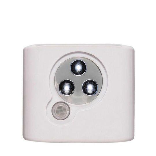 Fixação por adesivo. A Iluminação com Sensor de Presença Ordene é ideal para armários, closets e despensas, possui sensor de presença infravermelho que ativa a luz por 20 segundos quando detecta movimentos, apagando automaticamente, além de luzes em led super branco e de foco concentrado, valorizando ambientes.