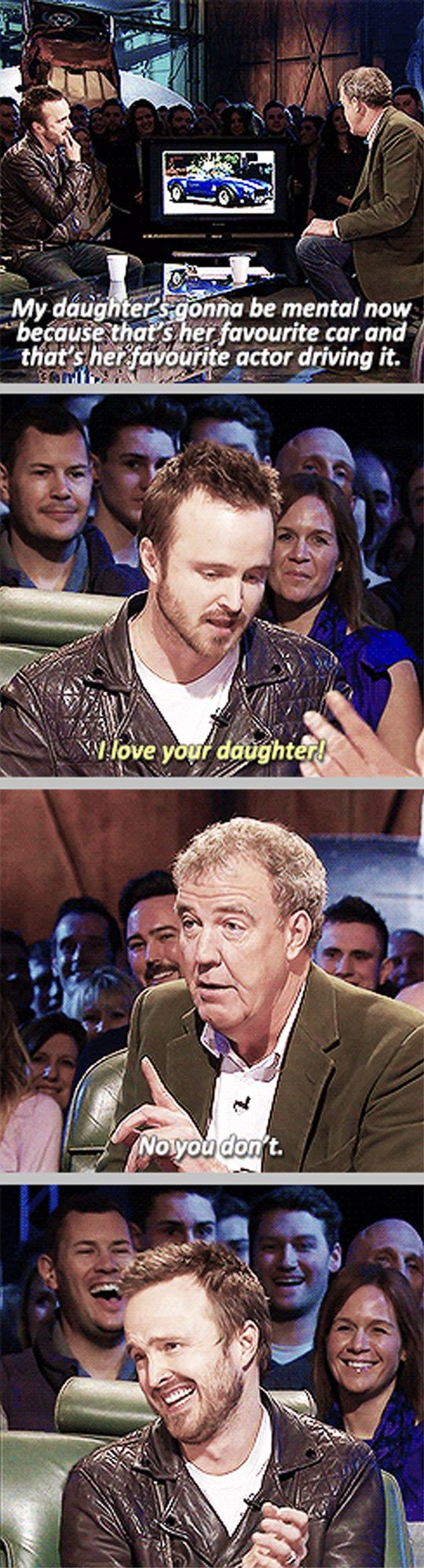 Aaron Paul on Top Gear…