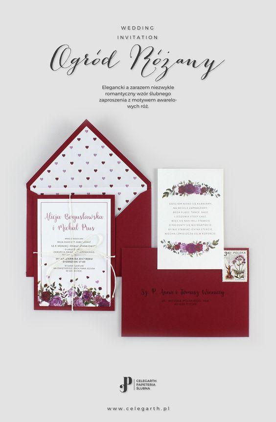 Zaproszenie ślubne Ogród Różany | Pracownia Celegarth #zaproszeniaslubne #zaproszenianaslub #zaproszenia #rustykalnezaproszenia #motywnaslub #pomyslnazaproszenia #eko #wesele #slub #pomyslnaslub #celegarth #weddinginvitation #weddingstationery #weddingdesign #rustic #botanicalinvitation