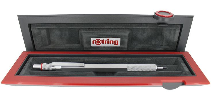 ROTRING 600 SILVER 1.0 MM DRAFTING MECHANICAL PENCIL NEW OLD STOCK MINT IN BOX