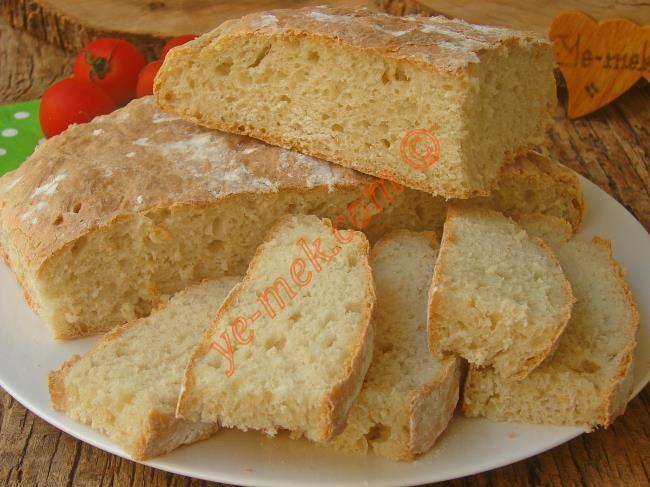 Yoğurma derdi olmadan, kolayca yapacağınız, yumuşacık ve lezzetli bir ekmek tarifi...