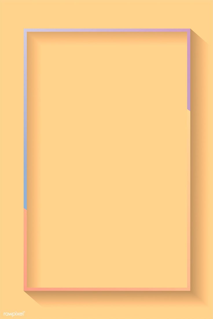 Download premium vector of Blank rectangle colorful ...