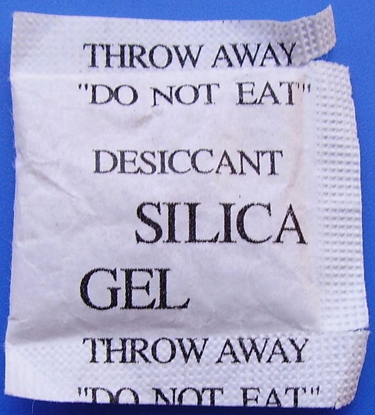 Forget Rice Dry Out A Wet Phone and More With Silica Gel Bags