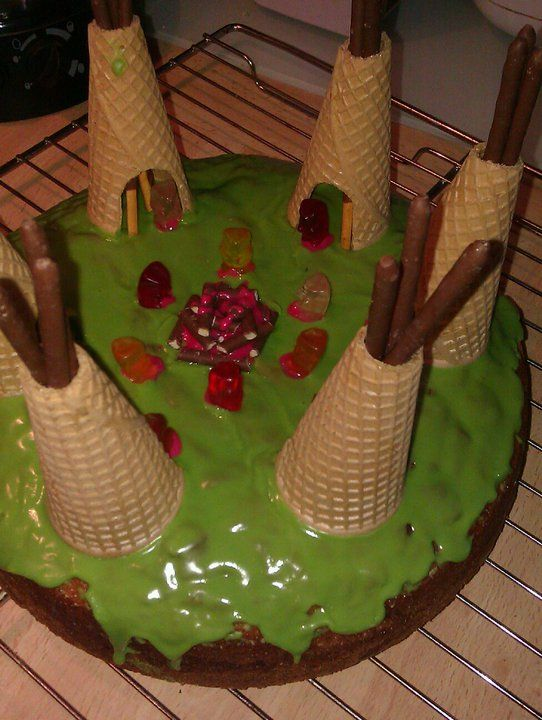 Indianer-Kuchen