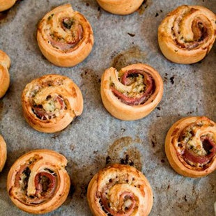 Marcus Wareing's bacon roly-polies