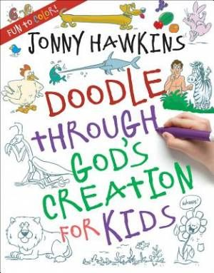 Doodle Through God's Creation for Kids | Free Delivery when you spend £10 @ Eden.co.uk