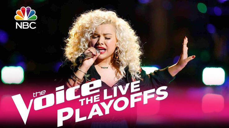"""The Voice 2017 Aaliyah Rose - Live Playoffs: """"Brass in Pocket"""""""