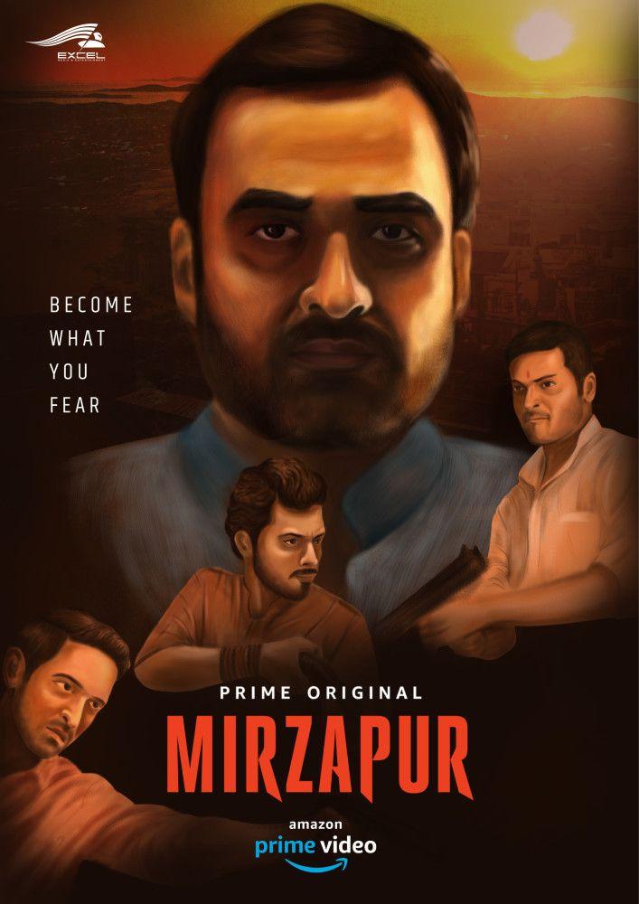 Mirzapur Poster Upcoming Series Amazon Prime Video Talenthouse