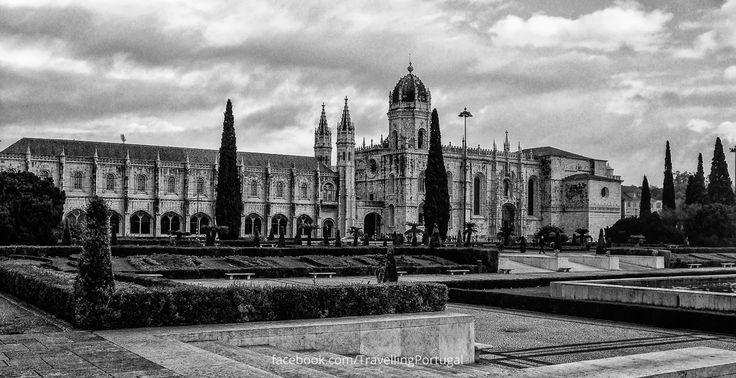 Mosteiro dos Jerónimos Fotos de Lisboa en blanco y negro | Turismo en Portugal