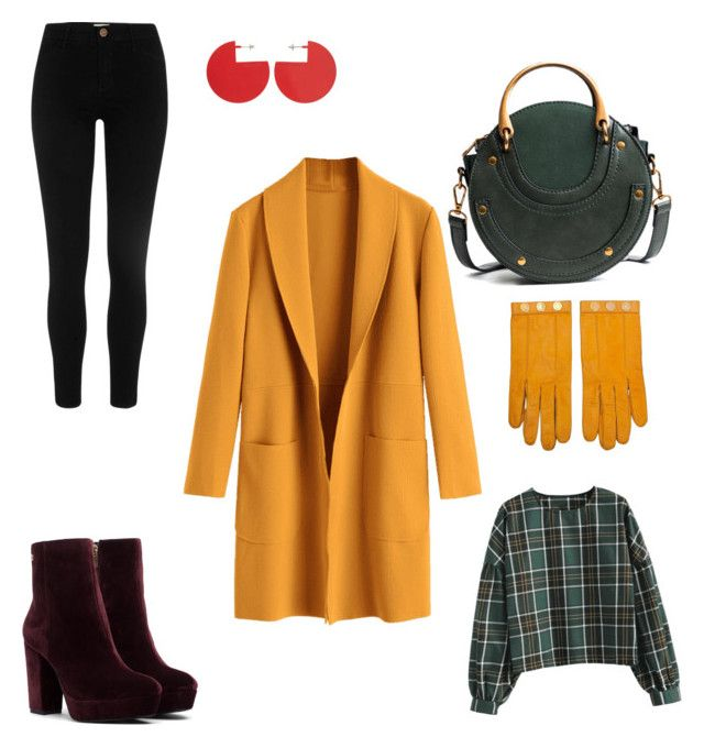 Yellow message from heart! by achim-oana-lavinia on Polyvore featuring polyvore fashion style Isabel Marant Hermès clothing