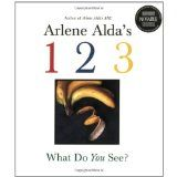 "Amazon.com: arlene alda's 1 2 3 what do you see? Arlene Alda, a noted photographer has created a book of pictures of everyday objects that form the shape of numbers. It is something like a photograph ""Ispy"" book! It is a good number recognition book for young children learning their numbers."