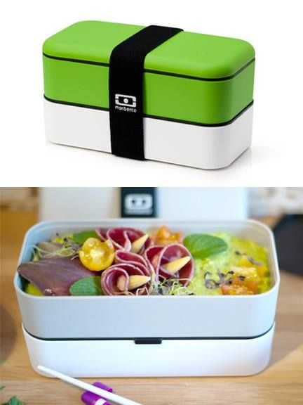 mb bento box green bento lunch boxes and photos. Black Bedroom Furniture Sets. Home Design Ideas