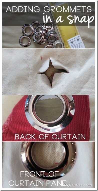 Curtains Ideas curtain grommets diy : 17 Best ideas about Diy Eyelet Curtains on Pinterest | Eyelet ...
