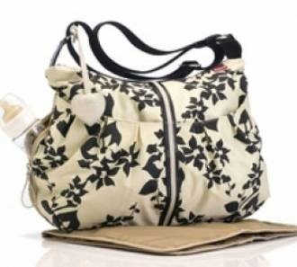 Babymel Amanda Floral Black & White Baby Bag    #pregolipregnancy