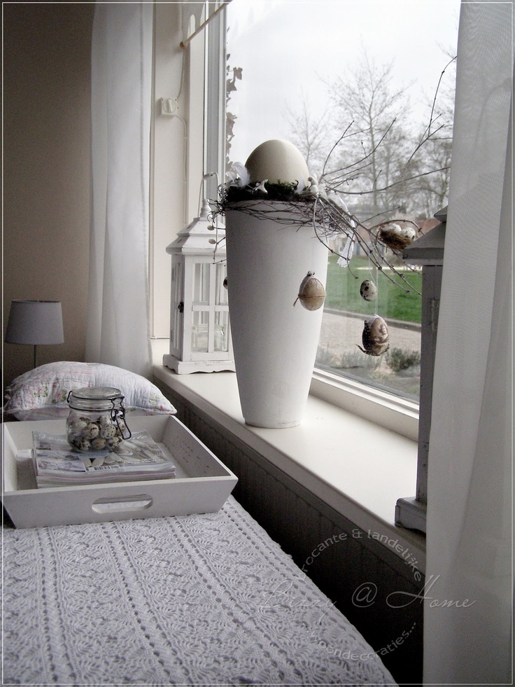 Idee voor het raam huis decoratie pinterest - Decoratie idee ...