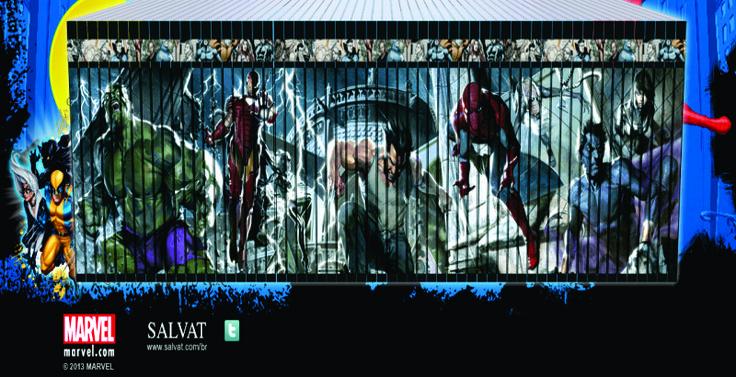A lista completa da coleção de Graphic Novels Marvel // Salvat