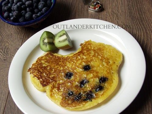 Cornmeal Pancakes (Jem's Mickey Mouse Pancakes) – Light and fluffy, with just a bit of crunch from the cornmeal –– they're to remind Jem of the people and life they left back on the Ridge.