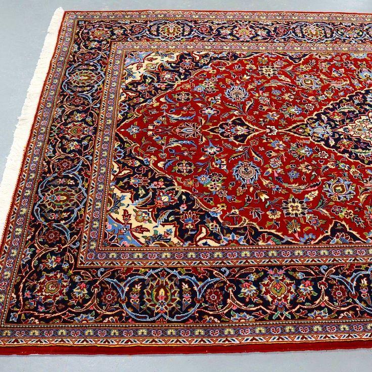 Kork wool Kashan rug.  #wool #kashan #rug #rugs #persianrug #persian #carpet…