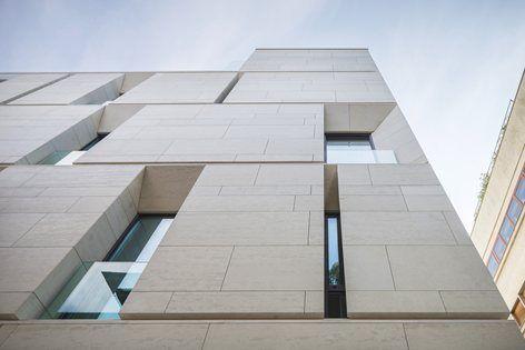 Mora Residential Building , Bucarest, 2014 - ADNBA