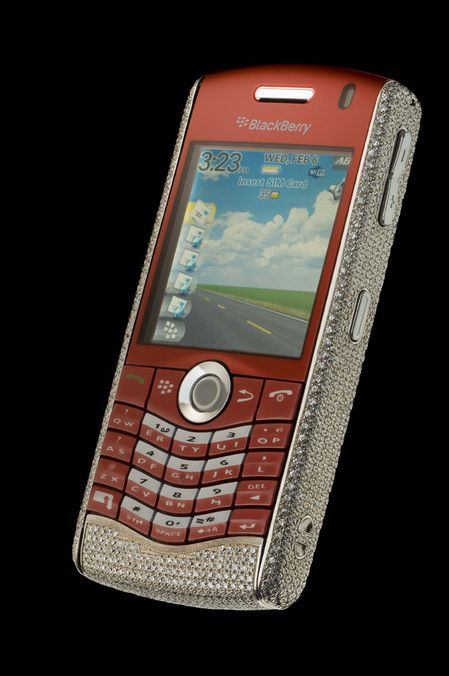 Amosu Blackberry Pearl Limited Diamond Edition for $90,000