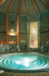 hot mineral waters at the Harrison Hot Springs Resort, British Columbia---most relaxing place!