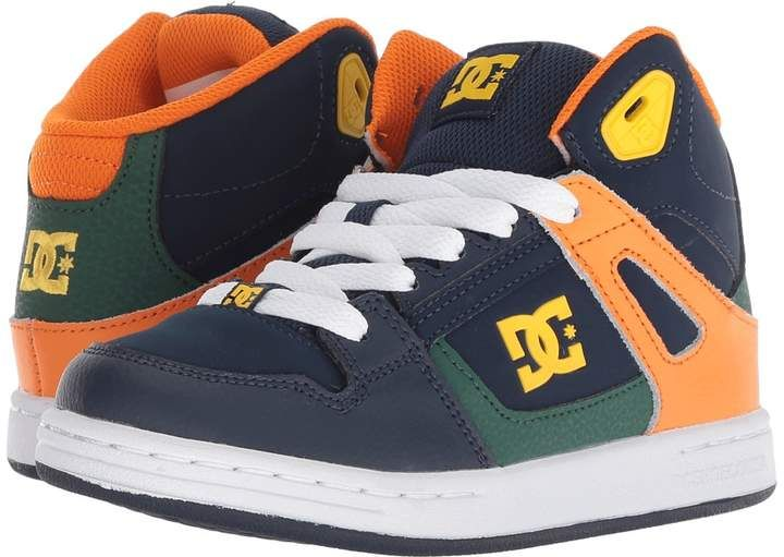 DC Kids Pure High Top Boys Shoes #day#comfort#collar | Boys