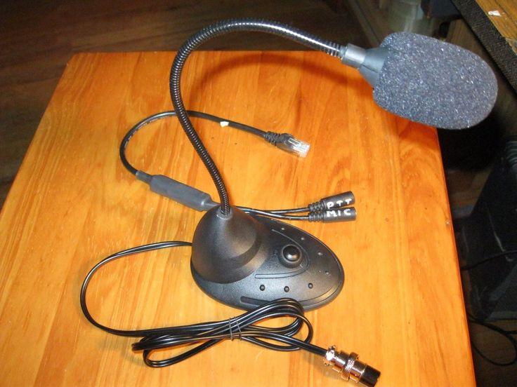 Microphones: Arco Desk Condenser Mic For Yaesu Hf Radios -> BUY IT NOW ONLY: $44.95 on eBay!