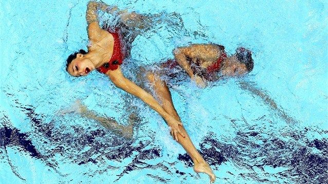 Wow. Spanish style in Synchronised Swimming