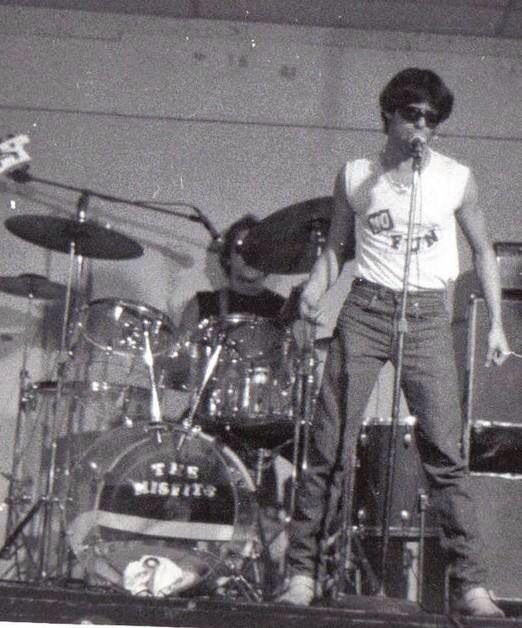 Glenn Danzig, The Misfits, 1977.