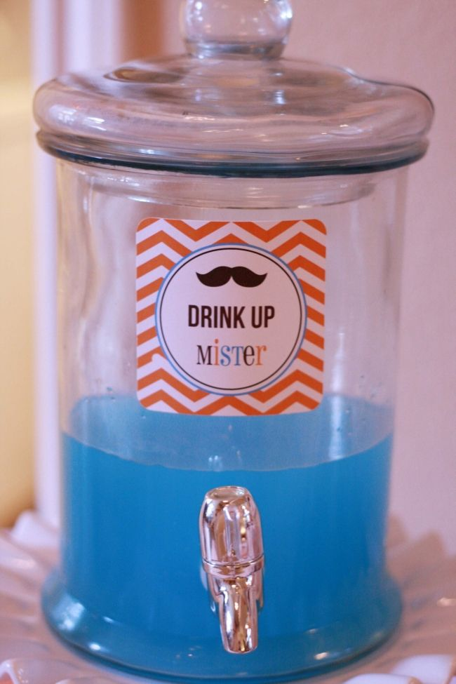 113 best images about boy 39 s little mister mustache party for Best drinks to have at a party