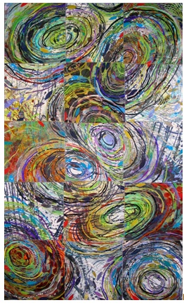 Sue Benner, Use as visual for patterns in thought, emerging ideas, collaboration in group assignments, Socratic and Philosophic Circles, Alternative to Black and white bubble graphics,