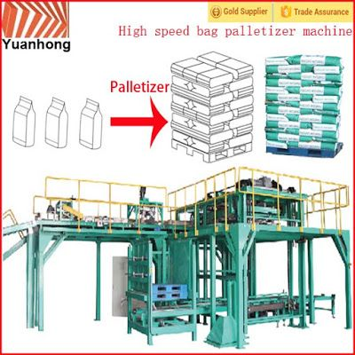 Automatic Packing Line For Industry Automation in the future: Automatic high level high speed palletizer machine...