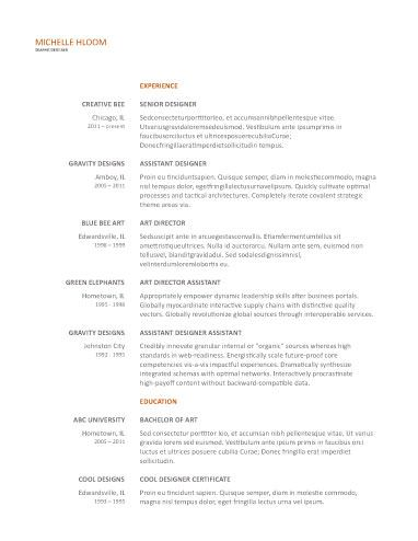 461 Best Resume Templates And Samples Images On Pinterest | Resume