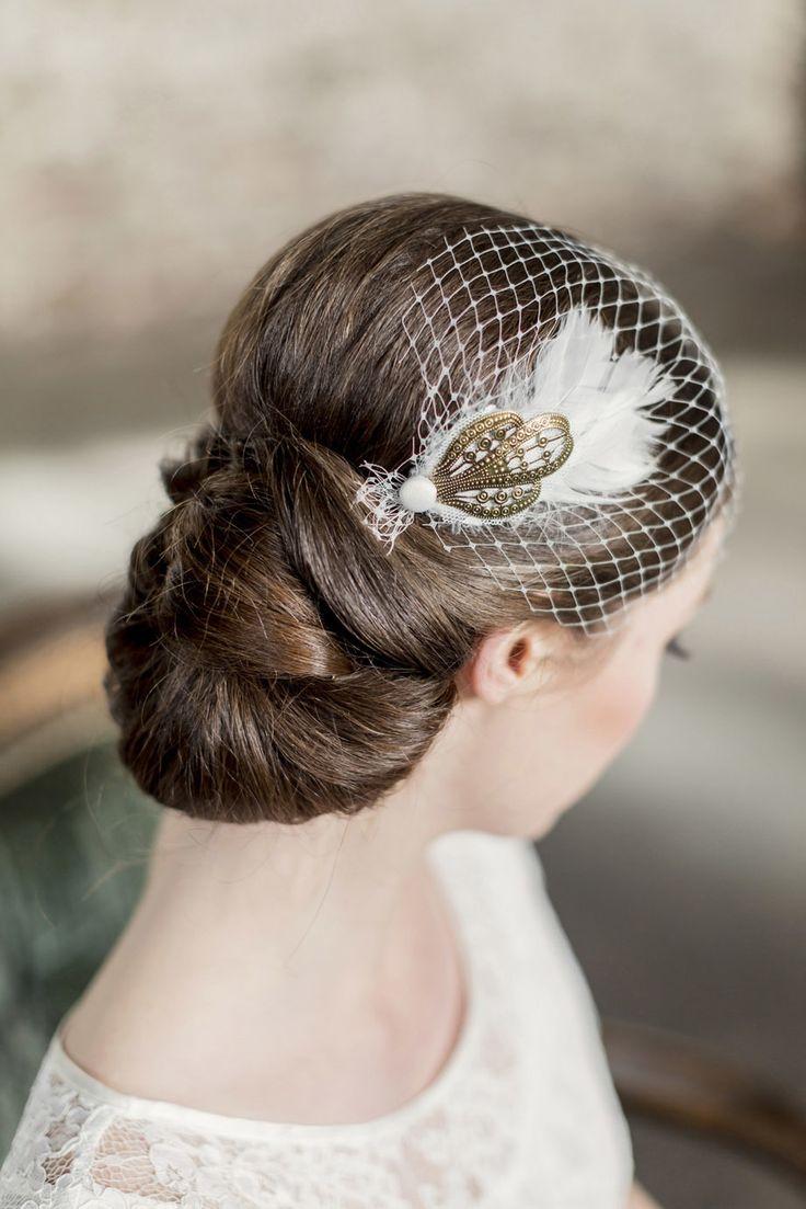 70 best Alternativen zum Brautschleier images on Pinterest   Frisur ...