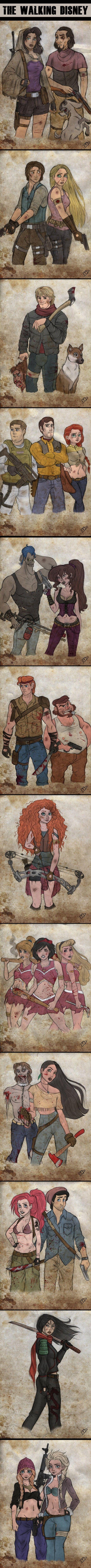 Walking Dead / Disney