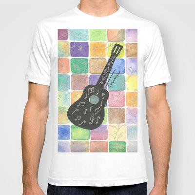 Camiseta Violão. Preço 35,00